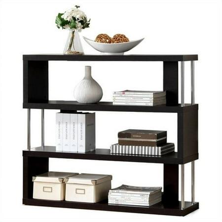 Scranton & CO 3 Shelf Bookcase in Dark Brown - image 2 of 2