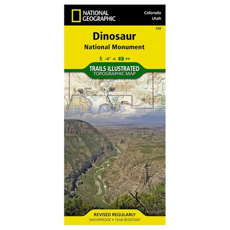 Trails Illustrated Dinosaur National Monument   National Geographic