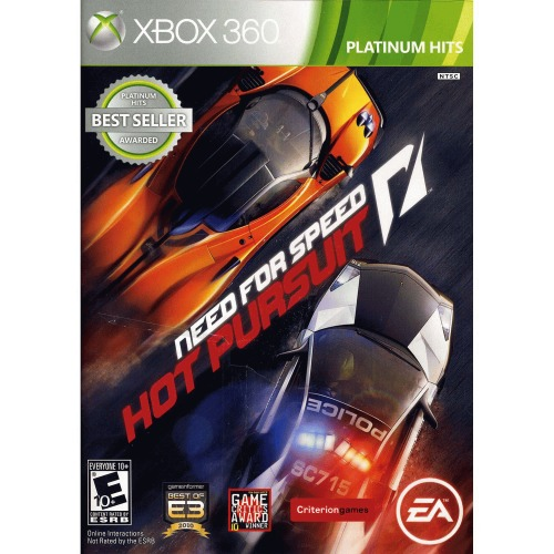 Need For Speed Hot Pursuit PH (Xbox 360) Electronic Arts, 14633731521