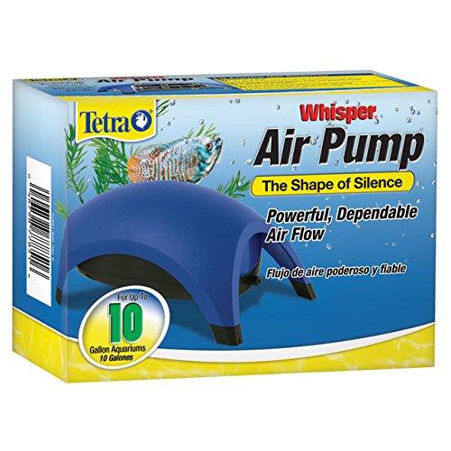 Tetra Whisper Air Pump Up To 10 Gallons, For Aquariums, Powerful Airflow