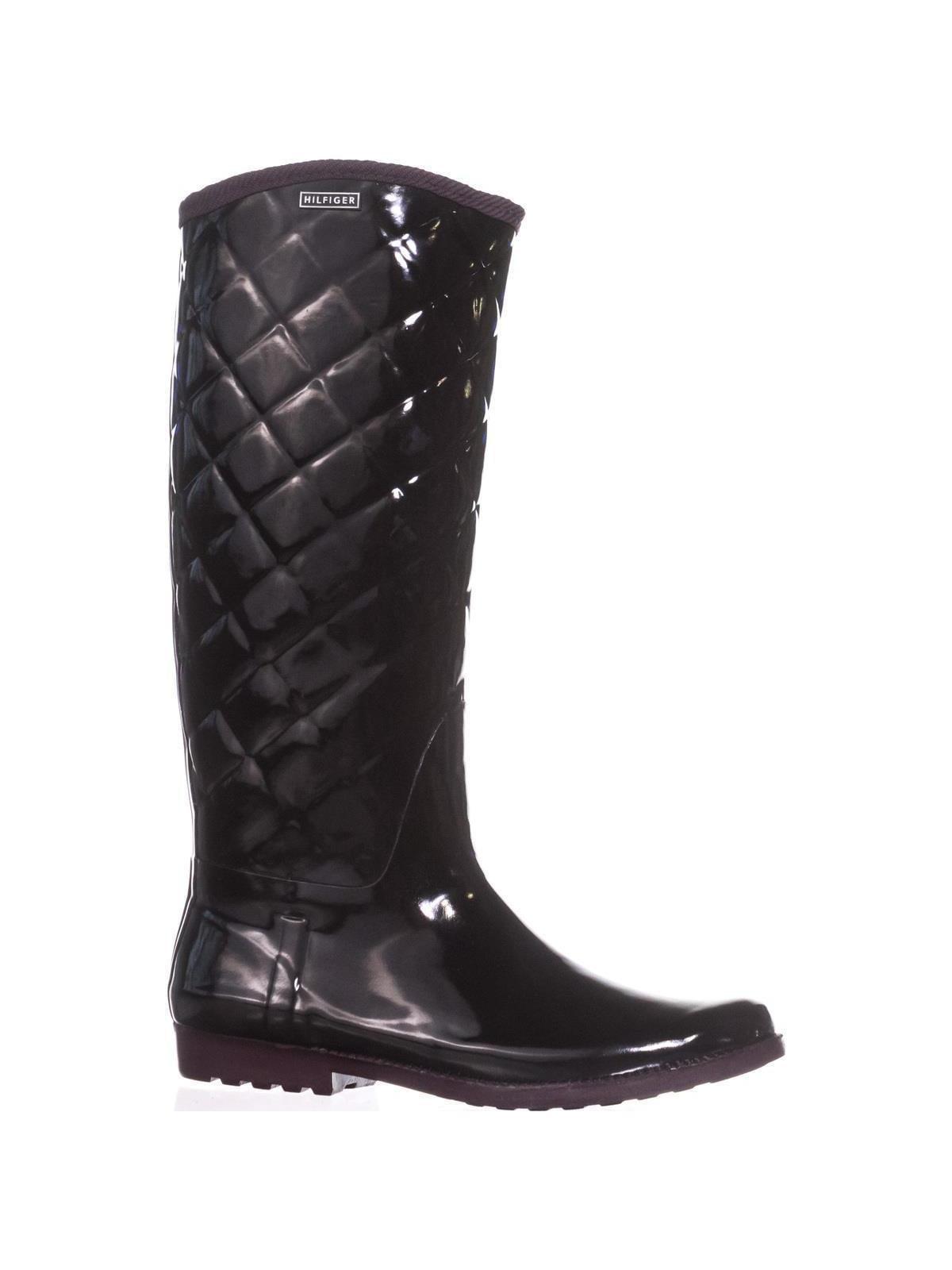 6b921b50093a0 Tommy Hilfiger Vintage Rain Boots, Black Multi