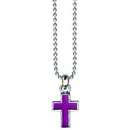 Pendant-Violet Cross