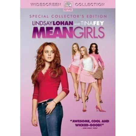 Mean Girls (DVD) - Pink Girl Movie