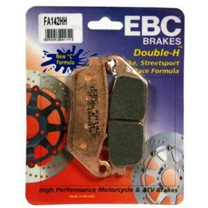 EBC Double-H Sintered Brake Pads Front (2 Required) Fits 00-03 Honda Valkyrie 1500 GL1500CF Interstate