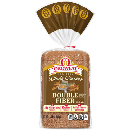 Oroweat Double Fiber Bread, 24 oz