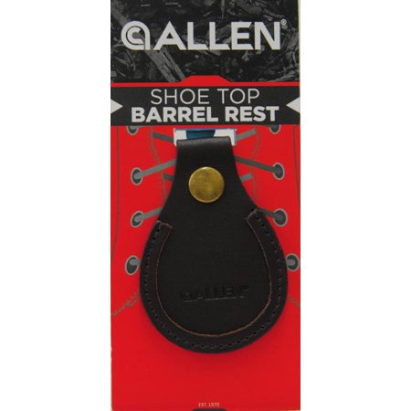 Leather Barrel Shoe Rest by Allen Company