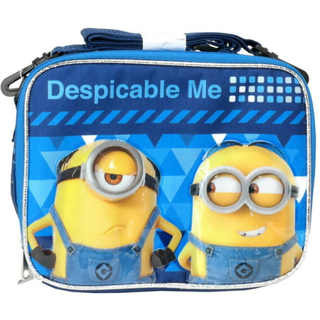 Minion Lunch Box (lunch bag - despicable me 3 - minions blue dm3)
