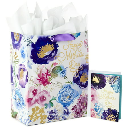 Hallmark Large Gift Bag With Tissue Paper And Mothers Day Card