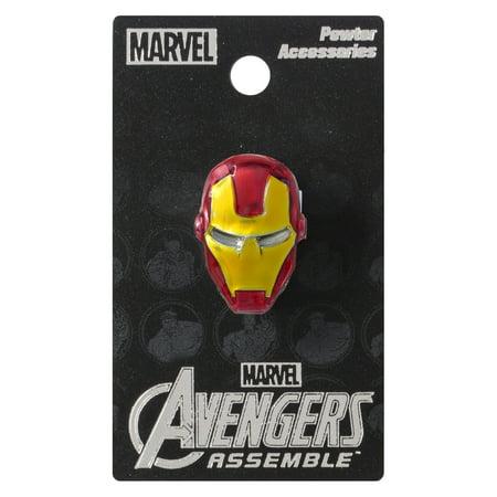 Pin - Marvel  - Pewter Lapel Pin Iron Man Colored