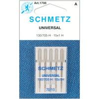 Schmetz Size 70/10 Universal Sewing Machine Needles, 5 Count