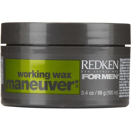Redken For Men Maneuver Medium Control Working Wax  3 4 Oz