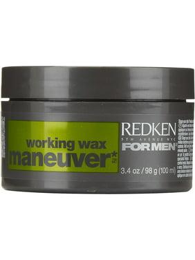 Redken For Men Maneuver Working Wax, 3.4 oz (Pack of 2)