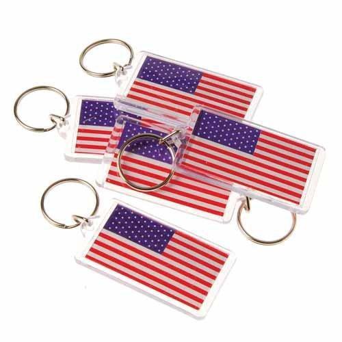 U.S.A. Flag Keychains