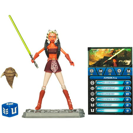 Star Wars 2010 Clone Wars Animated Action Figure CW No. 17 Ahsoka Tano - Clone Wars Rex