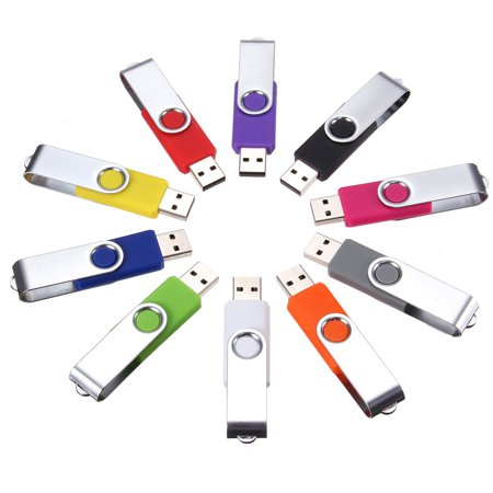 256MB USB 2.0 Swivel Flash Drive Memory Stick Storage U Disk