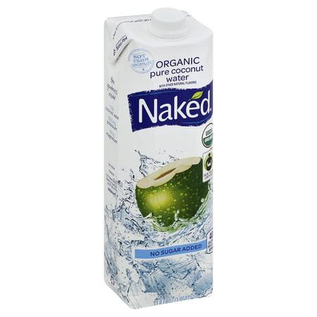 Naked Juice 100% Organic Pure Coconut Water, USDA Organic