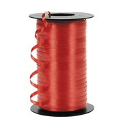 "3/16"" Wedding Balloon Curling Crimped Ribbon  -Red"