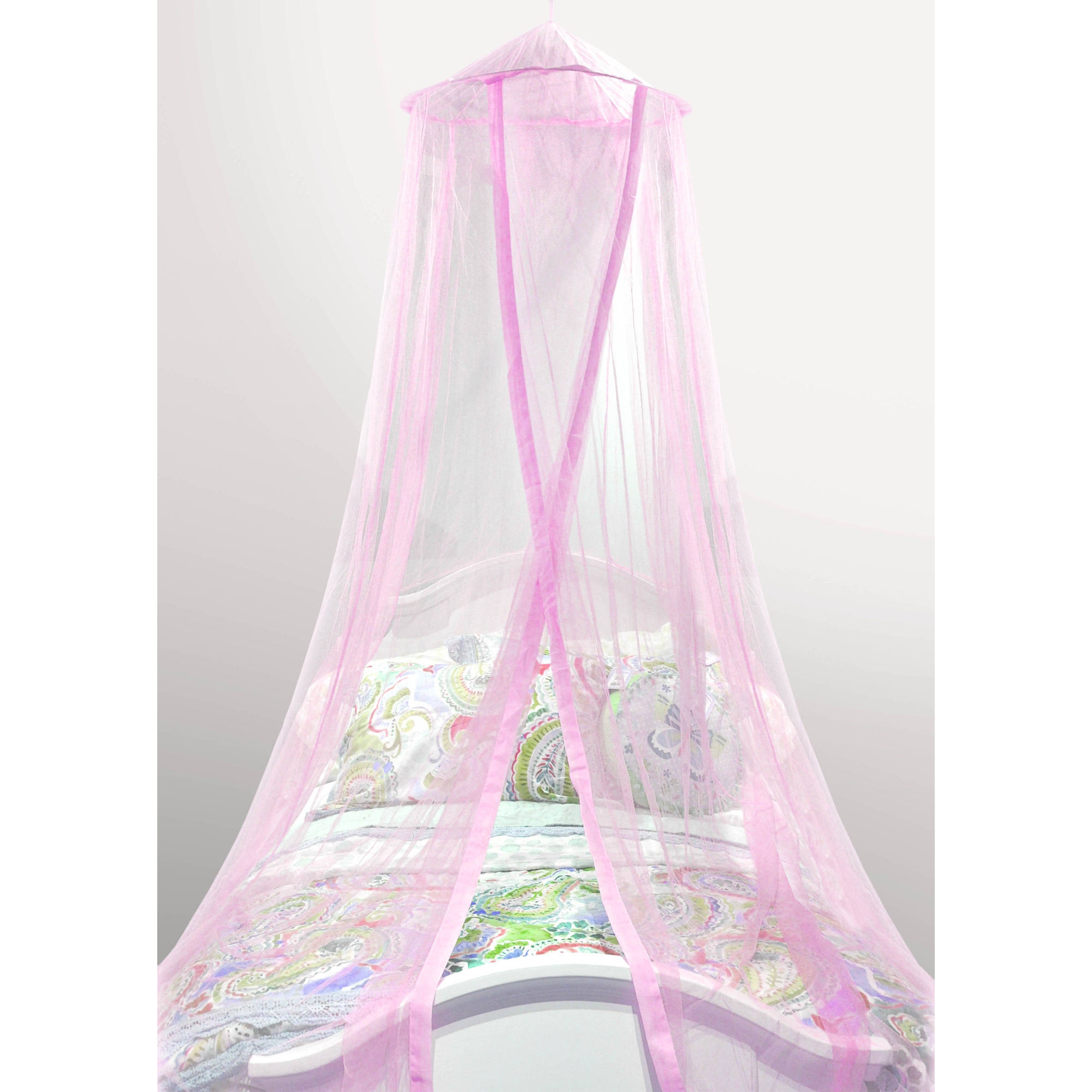 Mainstays Kids Satin Trim Canopy