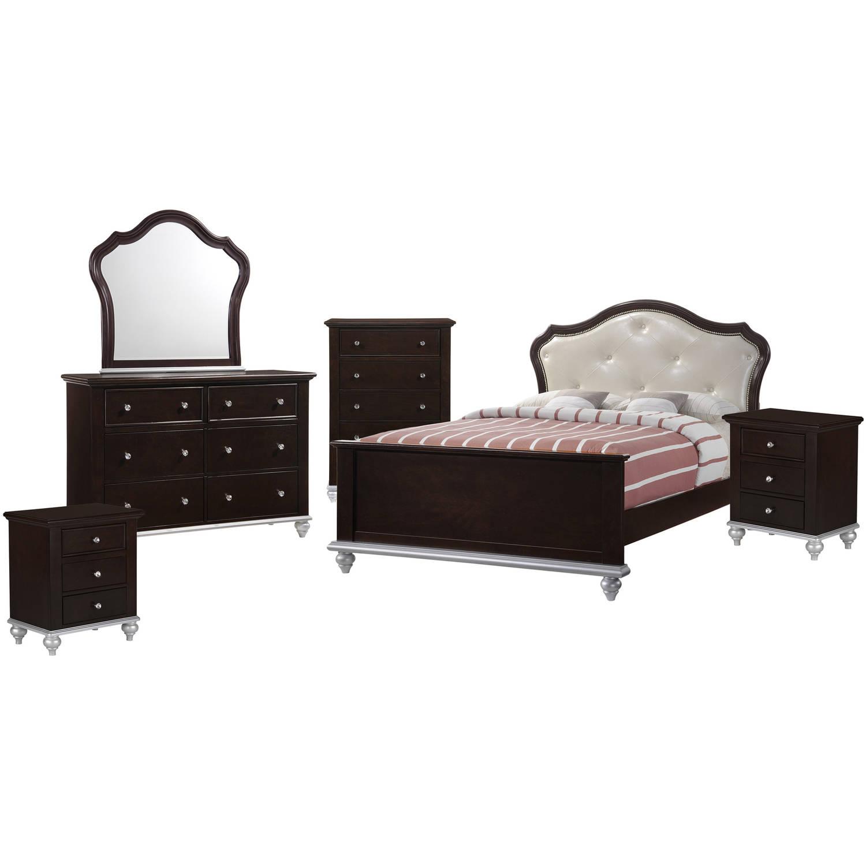Picket House Furnishings Alli Twin Platform 6PC Bedroom Set w  Storage Trundle by