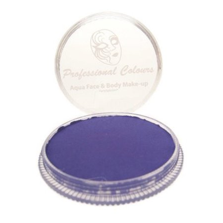 PartyXplosion Aqua Face Paint Refill - Blacklight Violet (10 gm)