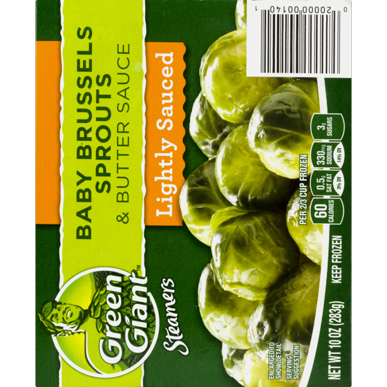 General Mills Green Giant Steamers Baby Brussel Sprouts