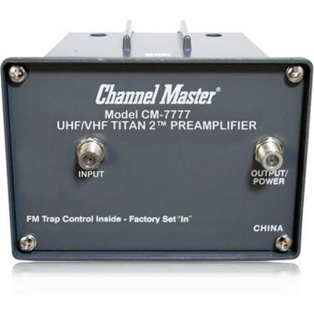 Channel Master TITAN 2 CM-7777 High Gain Preamplifier