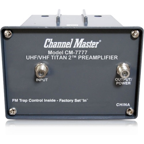 Channel Master TITAN 2 CM-7777 High Gain Preamplifier
