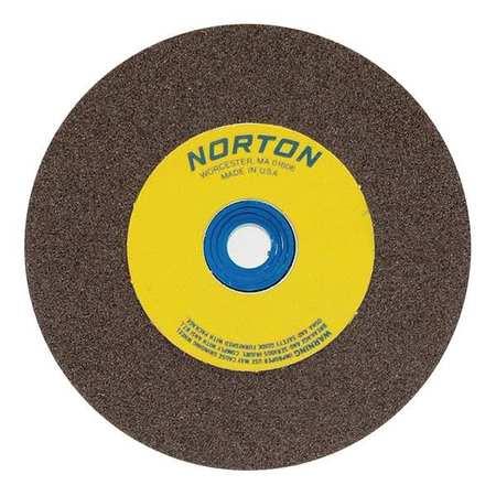 Grinding Wheel,T1,6x3/4x1,AO,60/80G,Brn NORTON 07660788240