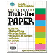 Top Notch Teacher Products TOP850 Assorted Multi-Use Paper - 8.5 x 11 in.