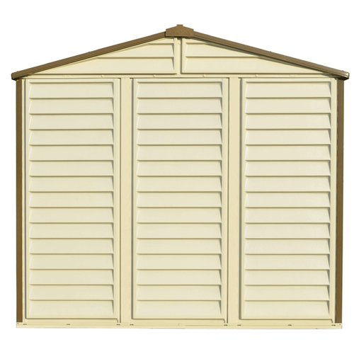 Duramax Building Products 8 ft. W x 6 ft. D Plastic Storage Shed