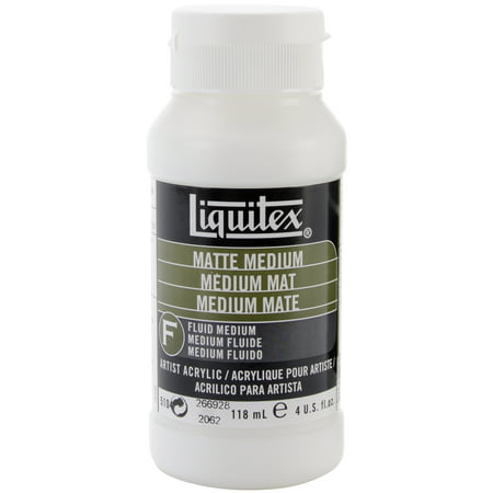 Liquitex Matte Medium: 4 oz - Protec Medium Matte