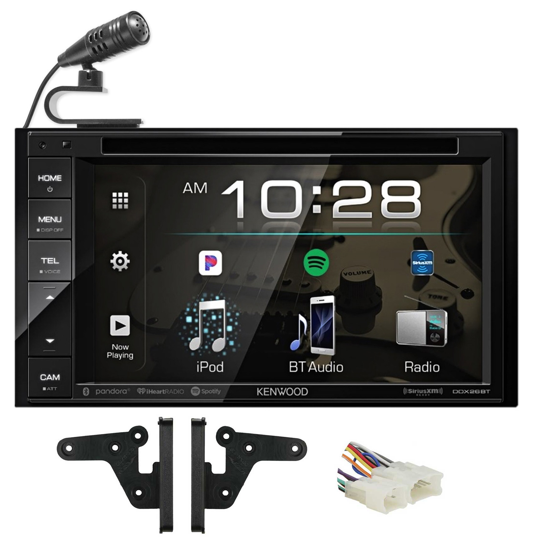 Kenwood DVD/iPhone/Android/Spotify/Bluetooth Receiver For 2003 Toyota Tundra