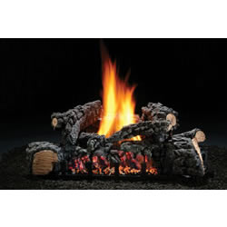 "22"" Highland Glow Vent-Free Log Set, Lp, Variable Flame"