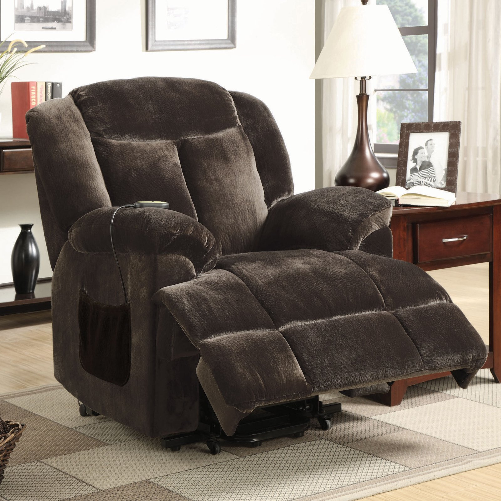 Coaster Padded Back Power Lift Recliner Brown & Coaster Padded Back Power Lift Recliner Brown - Walmart.com islam-shia.org