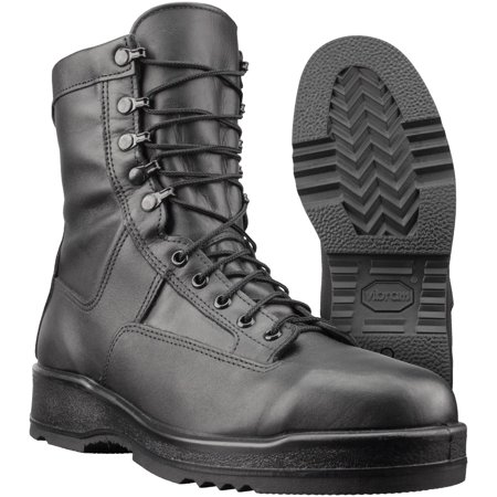 Navy Flight Deck - Boot, GI Wellco Navy Flight Deck, Black, Size 3R