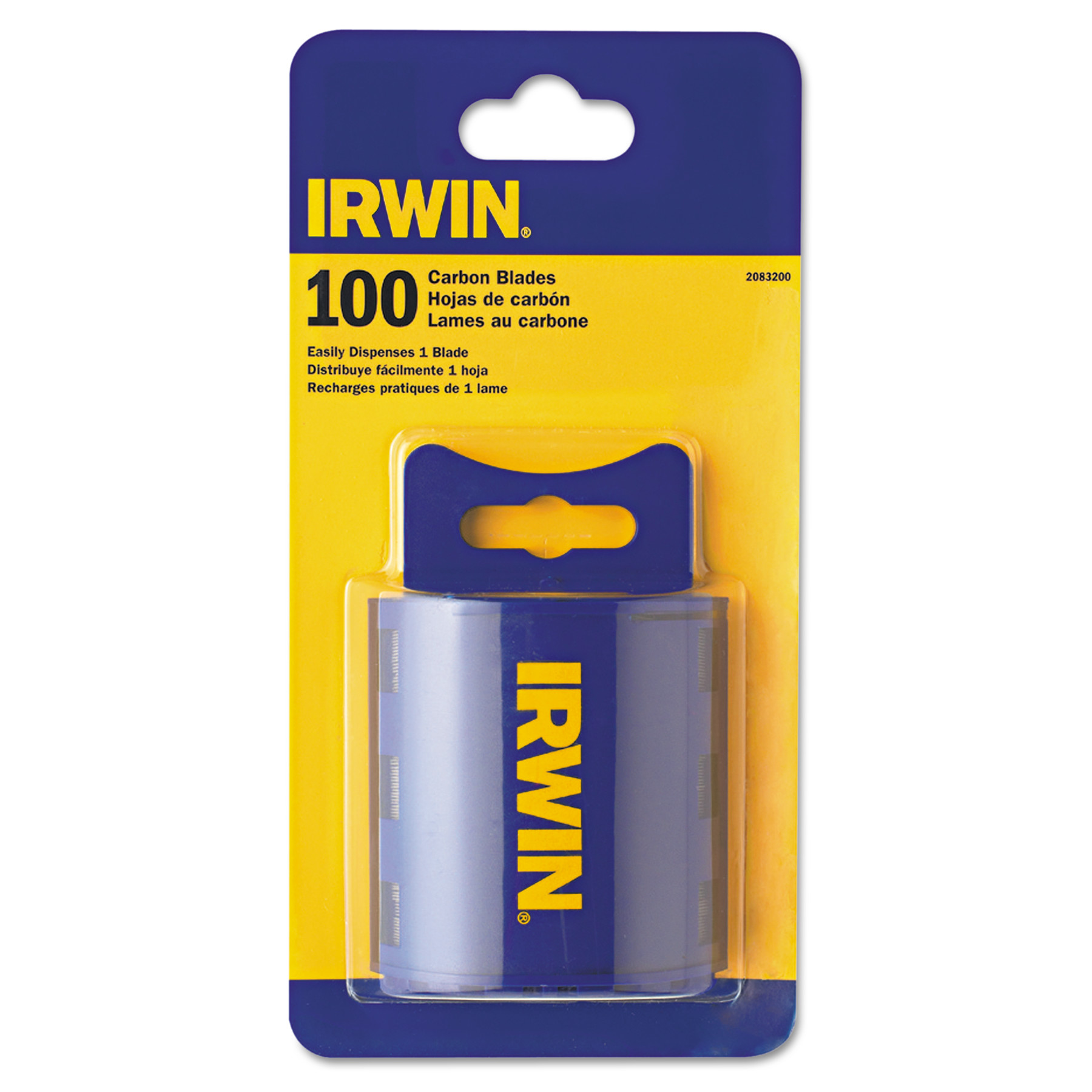 IRWIN Utility Knife Carbon Standard Utility Blades 100 Count