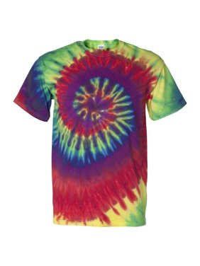 2c64a279b2bcc2 Product Image Tie-Dye 200MS Multi-Color Spiral Short Sleeve T-Shirt