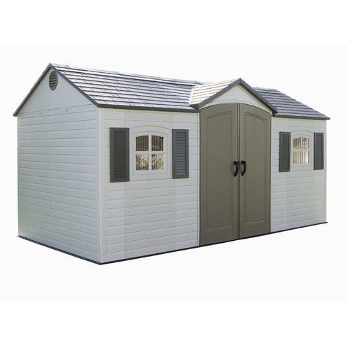 Lifetime Side Entry Plastic Storage Shed