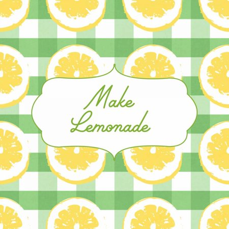 Make Lemonade on Green Poster Print by Linda Woods](Lemonade Stand Poster)
