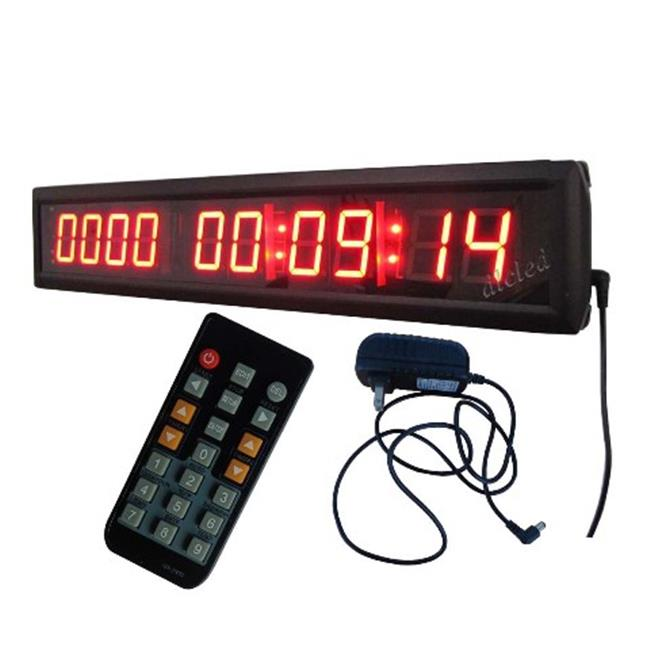 DLC IN10T1. 8R 1. 8 inch High Character LED Digital Days Countdown & Up Clock, Red