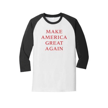Donald Trump Make America Great Again Baseball T Shirt