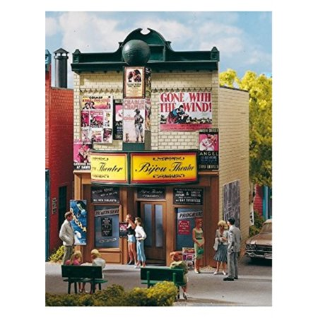 Aristo Craft G Scale Trains (PIKO G SCALE MODEL TRAIN BUILDINGS - BIJOU THEATRE - 62233 by Piko)