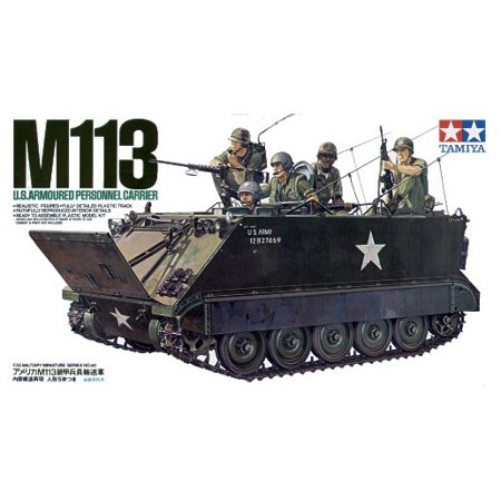 Tamiya 35040 M113 APC US Army Vietnam 1/35 Scale Plastic Model Kit