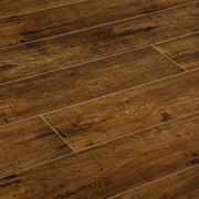 "BuildDirect Honey Brown 8mm 48""X6.7"" Laminate Flooring (26.75sq. ft. per Box)"