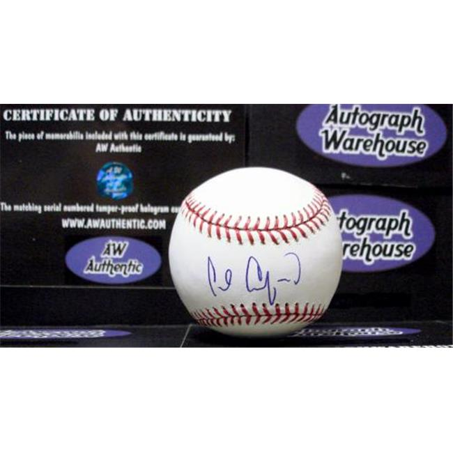 Carl Crawford autographed Baseball (MLB HOLOGRAM)