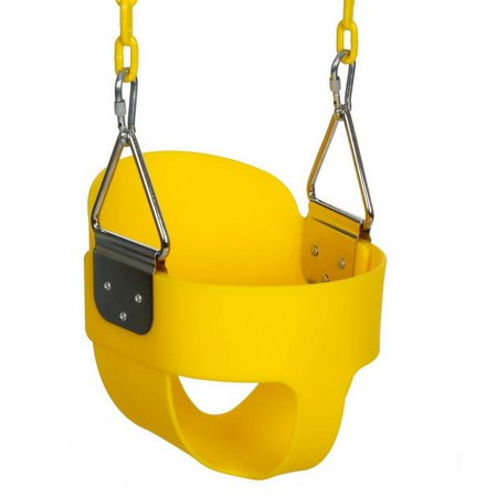 Heavy-Duty Full Bucket Toddler Swing Seat for boys and girls