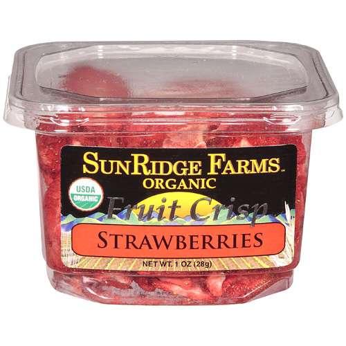 Sunridge Farms: Organic Fruit Crisp Strawberries, 1 oz