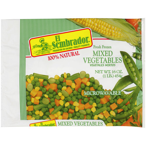 El Sembrador Fresh Frozen Mixed Vegetables, 16 oz