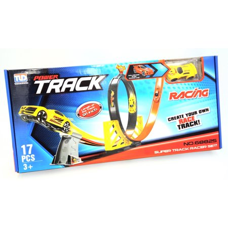 Looping 1:64 Scale Hot Car Wheels Racing Track Toy for $<!---->