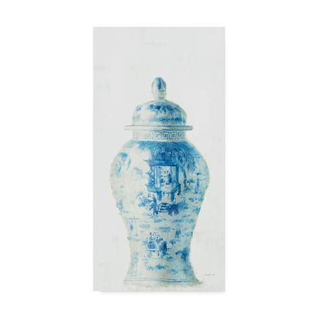 Trademark Fine Art 'Ginger Jar II on White Crop' Canvas Art by Danhui Nai ()